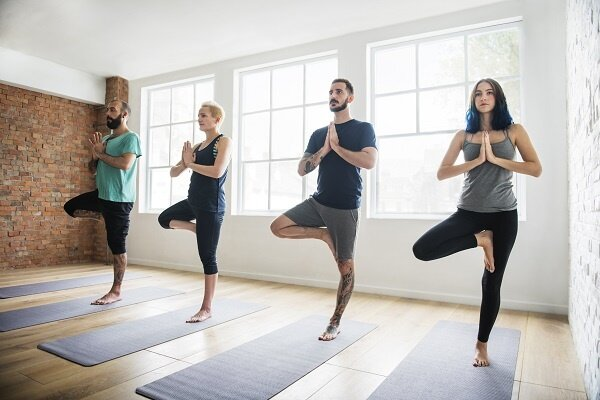 Yoga Class at Chesapeake Martial Arts